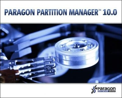 Paragon Partition Manager 10.0 RUS