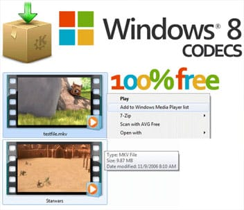 Codec pack Windows 8 by Shark007