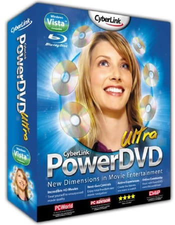 Cyberlink PowerDVD 10 3D Ultra (русская версия)